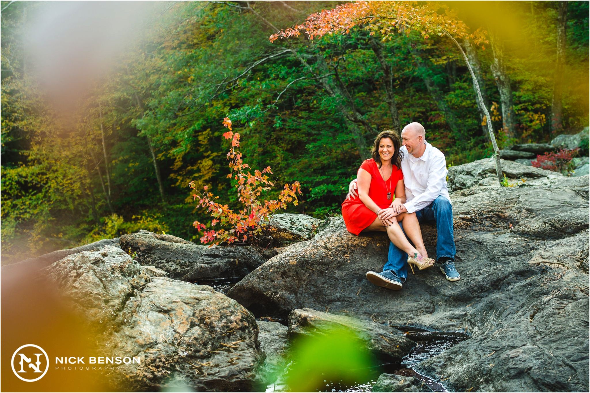 Devils Hopyard Engagement Session, Nick Benson Photography