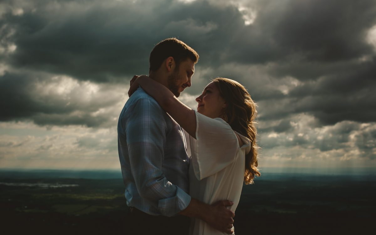 John Boyd Thacher State Park Engagement Session