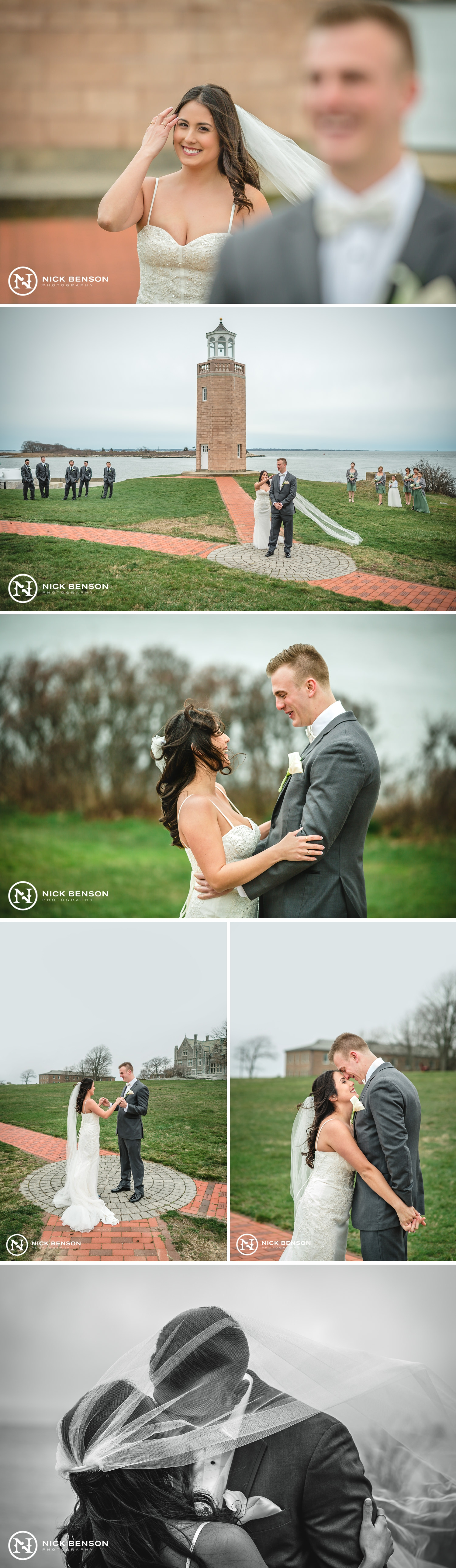 CT Wedding Photographer, First Look, The Branford House Wedding